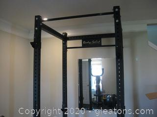 Body Solid SPR 1000 Power Rack with Several Pieces- See Description