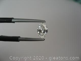 Genuine .45CT Marquise Diamond