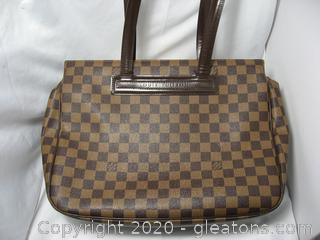 Louis Vuitton Parioli Damier Handbag