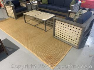 Large Seagrass Rug