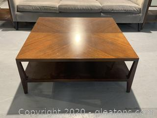 Mitchell Gold + Bob Williams 2 Tier Coffee Table