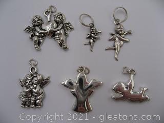 Angel Charm Lot 5