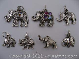 Elephant Charm Lot