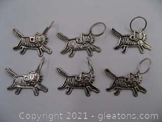 Cat Charm Lot 4