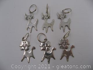 Cat and Dog Charm Lot
