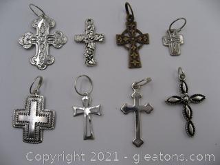 Cross Charm Lot 1