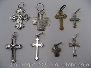 Cross Charm Lot 3