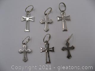 Cross Charm Lot 6