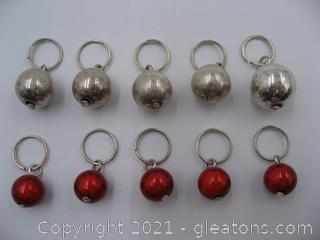 Colorful Bead Charm Lot 2