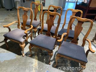 Vase-Back Dining Chairs