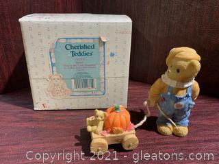 "Cherished Teddies- Daniel ""You're My Little Pumpkin"""