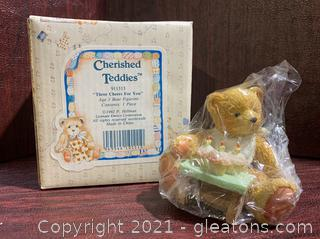 """Cherished Teddies- """"Three Cheers for You"""""""