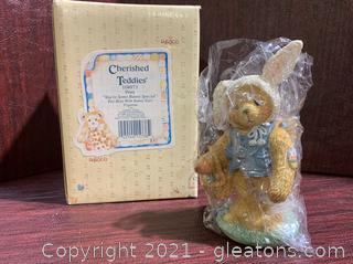 """Cherished Teddies- Peter """"You're Some Bunny Special"""""""