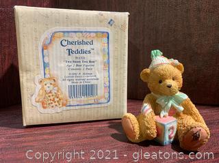"Cherished Teddies ""Two Sweet Two Bear"""