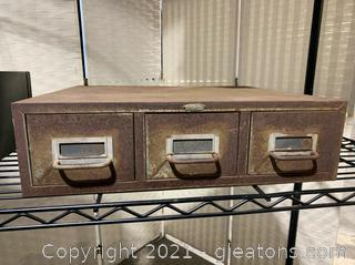 Cole- Steel Filing Cabinet