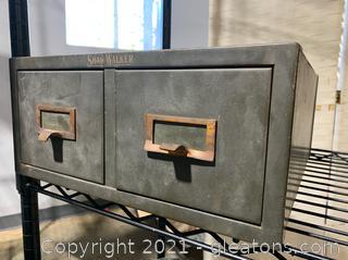 Shaw Walker Metal Filing Cabinet