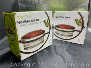 Hummble Slim Hummingbird Feeder