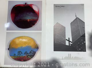 Pair of Minimalist Prints