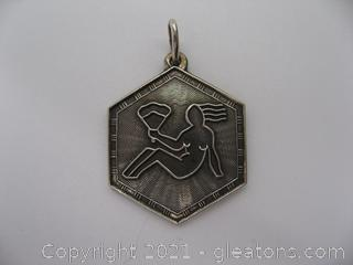 Designer David Anderson Zodiac Virgo Sterling Charm (Norway) QUALIFIES FOR FREE SHIPPING