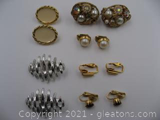 Clip on Earrings Lot