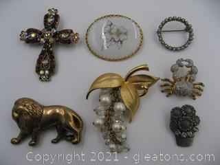 Brooch Lot