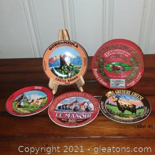 Set of 4 Cheese Themed Bistro Plated in Presentation Box