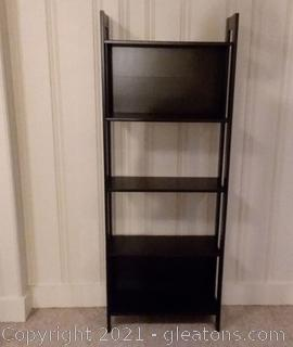 4 Shelf Bookcase/Display Shelves- Open Sides and Back