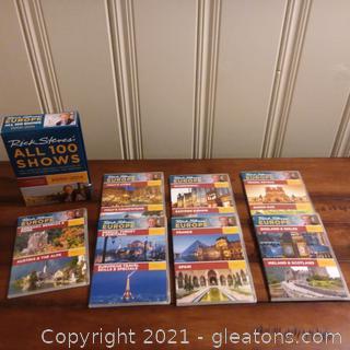 Rick Steves' Europe DVDs All 100 Shows 2000-2014