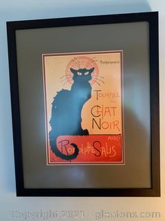 Theophile Alexander Steinlen Tour of Rodophe Sails Chat Noir-Print
