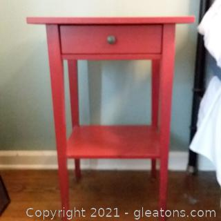 Ikea Nightstand with 1 Drawer