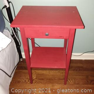 Ikea Nightstand with 1 Drawer