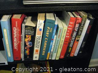 Varied Group of Non-Fiction Books (Does not Include Shelves)