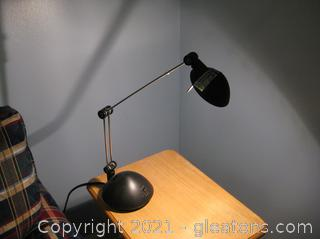 LV Adjustable LED Reading Lamp