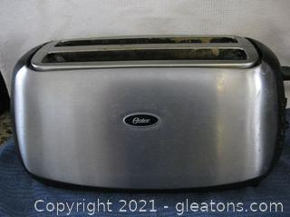Oster 4-Slice Stainless Steel Toaster
