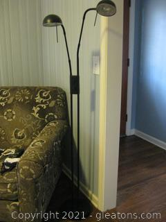 LR Double Light Floor Lamp