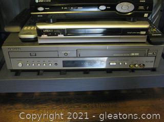 Samsung Dual DVD/VHS Player
