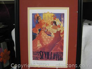 Fine Art Canvas Reproduction of Sevilla Fiestas Primaverales