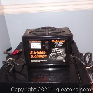 Schauer Dual Rate Automotive 12 Volt Battery Charger
