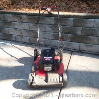 Troy Bilt Self-Propelled Lawn Mower