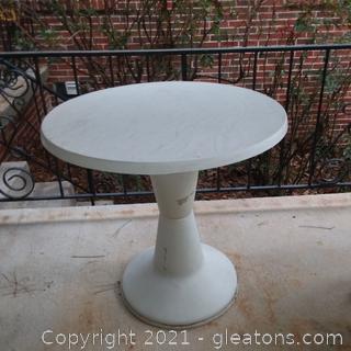 Plastic Resin Bistro Table