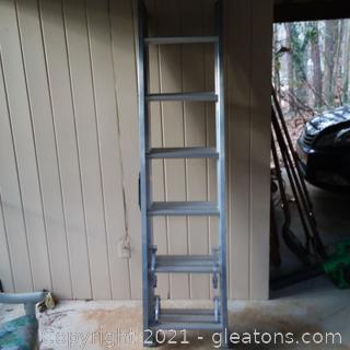 Werner 18' Aluminum Extension Ladder