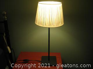 Ikea Bedside Table Lamp with Shade (A)