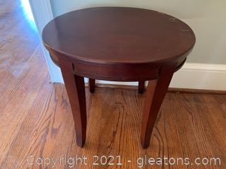 Small 4 Leg Accent Table