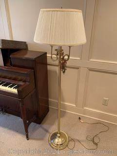 3 Light Candelabra Floor Lamp