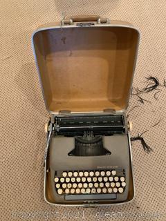Portable Smith-Corona Sterling Typewriter