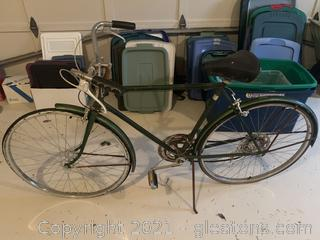 Vintage Schwinn Suburban Bike