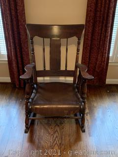 Wideback Rocking Chair