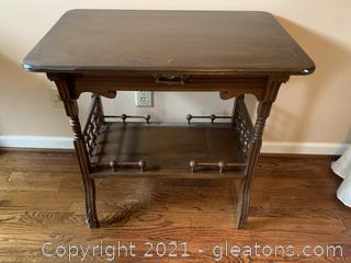 Art-Deco Accent Table