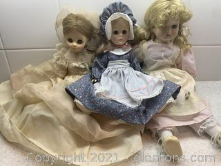 Collection of Vintage Baby Dolls
