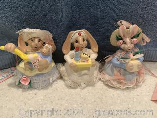 "Fresco Janita ""ConfectionatelyYours"" Bunnies"